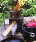 breakfast stove